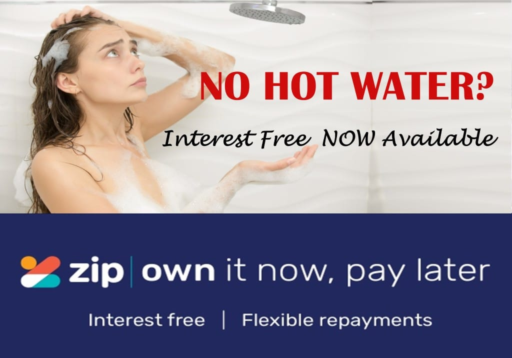 Interest Free Hot Water System